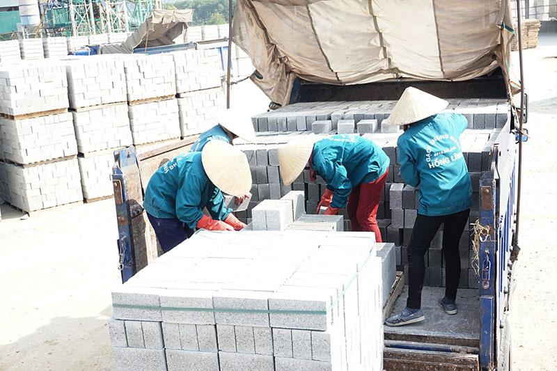 Gạch không nung – Hướng sản xuất vật liệu xây dựng mới thân thiện với môi trường