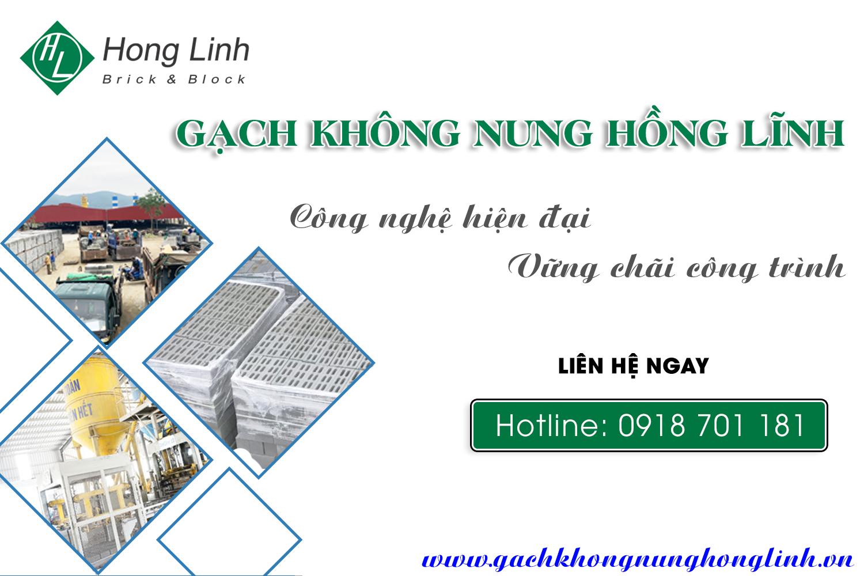 Giá gạch không nung tại Hà Tĩnh