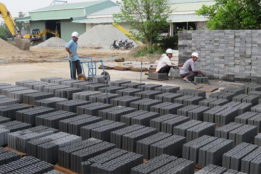 gạch block bê tông